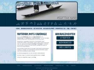 Website Outdoorlimits Kardinge